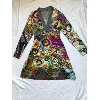 Платье 42-44 космический рисунок