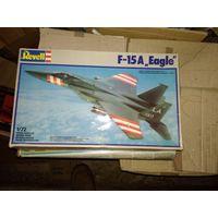 1/72 Revell F-15A Eagle -  модель выпуска 1988 года