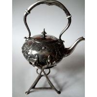 Бульотка старинная Англия серебрение клеймо