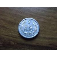 Китай 2 фынь 1987_1