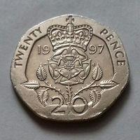 20 пенсов, Великобритания 1997 г.