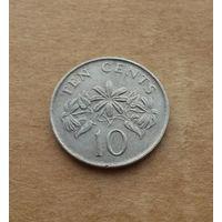 Сингапур, 10 центов 1987 г.