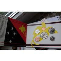 Набор монет Папуа Новая - Гвинея. Набор 1995 г. UNC.