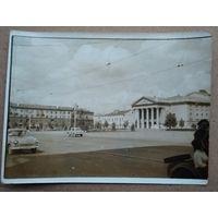 Фото Витебск. Вид на филармонию. 1970-е. 9х12 см