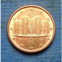Италия 1 евроцент 2013