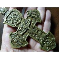 Крест Распятие ,наперсный криновидный,киотный-18вв