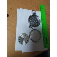 Корпус и циферблат от карманные часы, с рубля