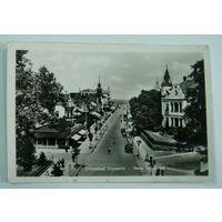 "Открытка города ""Оstseebad"" 30-е годы. Германия"