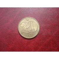 20 геллеров 1987 год Чехословакия