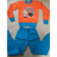 Новая пижама хлопок на 4-5 лет