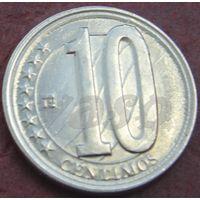 421:  10 сентимо 2007 Венесуэла