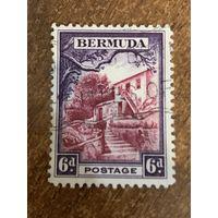 Бермуды 1936. Архитектура. Марка из серии