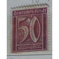 Номинал. Германский Рейх. Дата выпуска:1921-08