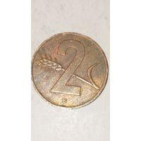 Швейцария 2 раппен 1957