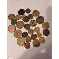 Лот из 28 монет ранние советы