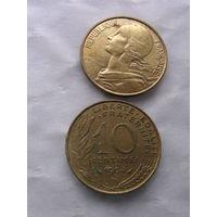 Франция 10 сантимов 1994г. распродажа