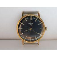 Часы Луч,позолота au20,тонкие в состоянии,редкие.Старт с рубля.