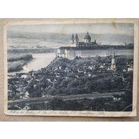 Старинная открытка. Монастырь в Мельке. Чистая.