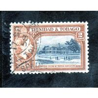 Тринидад и Тобаго. Ми-156. Имперский колледж тропического земледелия. Королева Елизавета II. 1953.