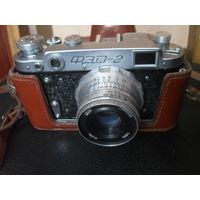 Фотоаппарат ФЭД-2.
