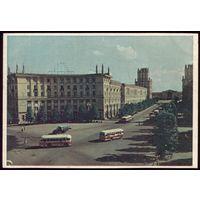 1959 год Минск Площадь Свердлова