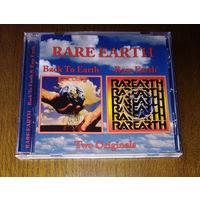 """Rare Earth - """"Back To Earth / Rare Earth"""" 1975/1977 (Audio CD)"""