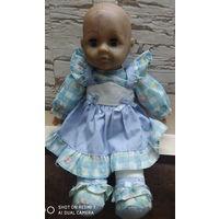 Мягконабивная кукла, винтажная.