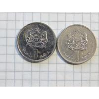 Марокко 1 дирхам 2012, 2013 (цена за монету)
