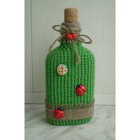Декоративная бутылка (0,2 литра) - Веселая лужайка