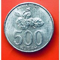 15-04 Индонезия, 500 рупий 2003 г.