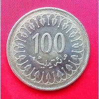 05-35 Тунис, 100 миллимов 2013 г.