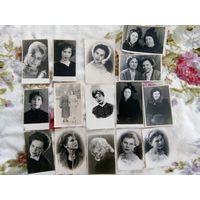 Девушки из СССР, 50-60е годы,15 портретных фото