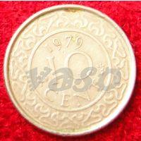 7227:  10 центов 1979 Суринам