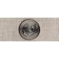 США 25 центов 2012/парки/Чако Нью Мексико(Ab)