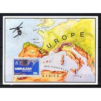 1978 Гибралтар. Гибралтар из космоса. Блок