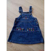 Сарафан джинсовый для девочки.