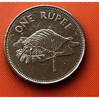 107-02 Сейшелы, 1 рупия 2007 г.