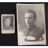 "Фото ""Командир"", нач. 1940-х гг., 2 шт."
