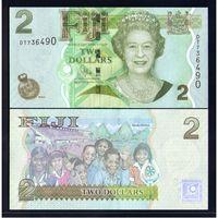 Фиджи. 2 доллара 2010. [UNC]