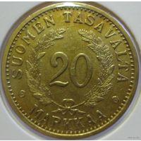 Финляндия 20 марок 1937 года. Сохран!