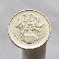Кипр 10 центов 1983