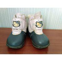 Ботиночки деми Hello Kitty, р.18, 19