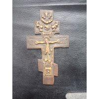 Крест.11 см на  6.5 см.19 век.