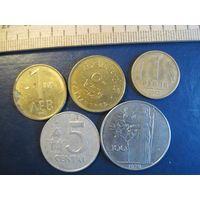 Пять монет/502 с рубля!