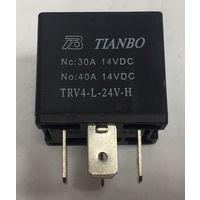Реле электромагнитное 24 вольта. TRV4-L-24VDC-H
