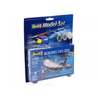 Подарочный набор со сборной моделью самолета Boeing 747 в масштабе 1:390,Revell