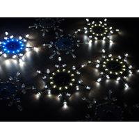 Снежинка на светодиодах - печатная плата