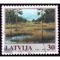 1 марка 1997 год Латвия Природа 466