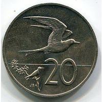 КУКА ОСТРОВА - 20 ЦЕНТОВ 1983