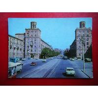 Открытка 1974г. Ереван. Улица Киевян.